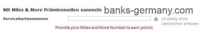 Commerzbank Account Application - Miles and More