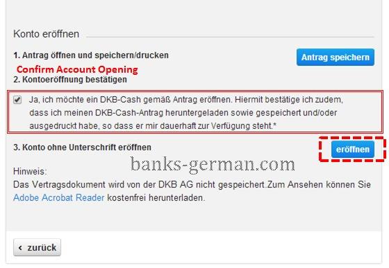 DKB Cash - Account Open 2
