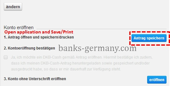 DKB Cash - Account Open