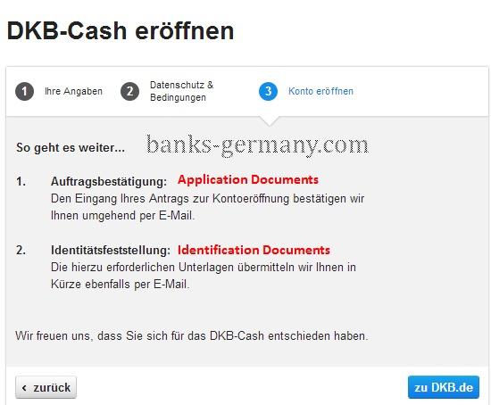 DKB Cash - Confirmation