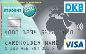 DKB Student ISIC Card English