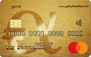 Advanzia Mastercard Gold Free Credit Card